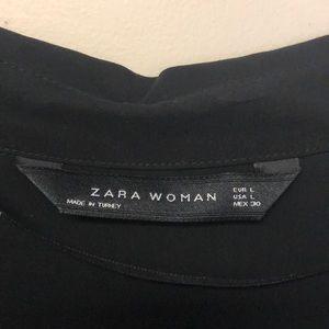 Zara Tops - Black Button Down
